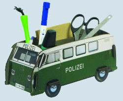werkhaus stiftebox vw bus t1 polizei maman et bebe. Black Bedroom Furniture Sets. Home Design Ideas