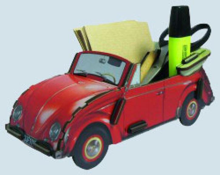 Werkhaus Zettelbox - VW Käfer Cabriolet in rot