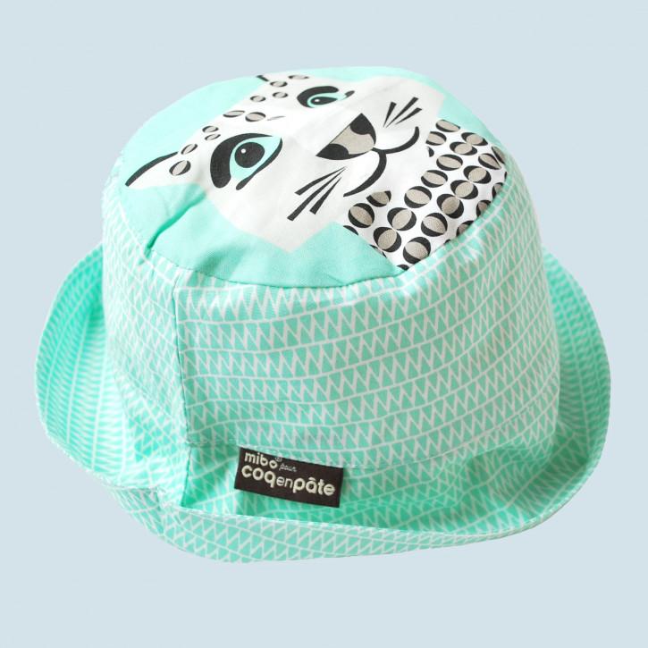 Coq en Pate - Sonnenhut Leopard für Kinder - Baumwolle, Bio Qualität