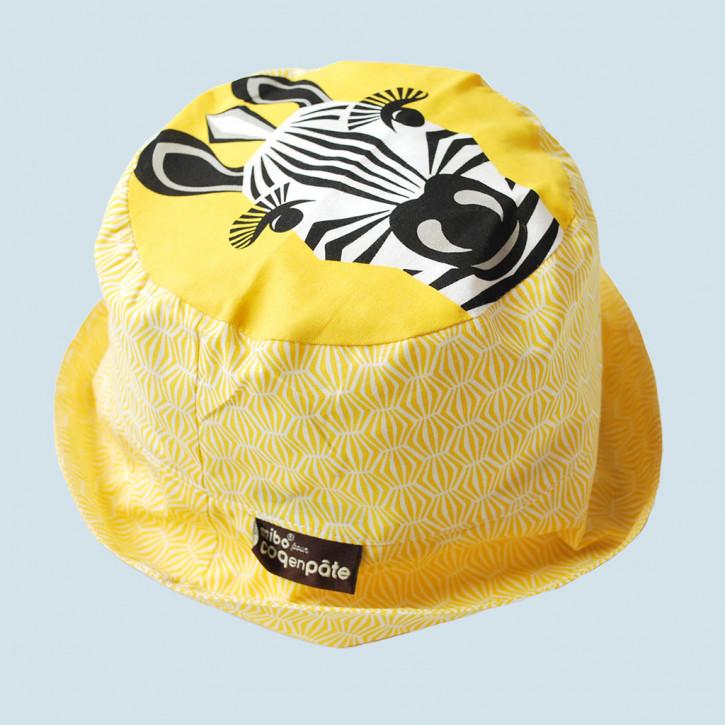 Coq en Pate - Sonnenhut Zebra für Kinder - Baumwolle, Bio Qualität