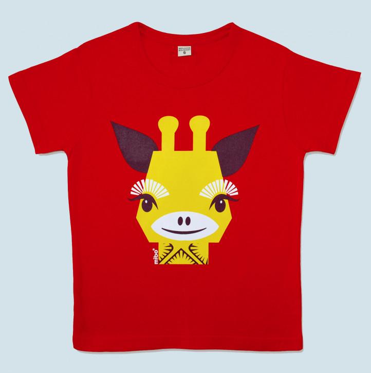 Coq en Pate - T-Shirt Giraffe - Baumwolle, Bio Qualität