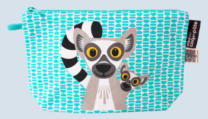 Coq en Pate - Federmäppchen Lemuren - Baumwolle, Bio Qualität