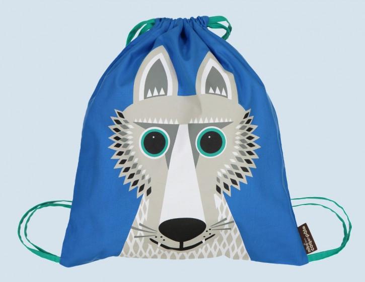 coq en pate - Turnbeutel, Sportbeutel Wolf - Baumwolle, Bio
