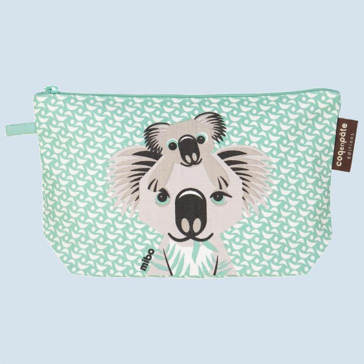 Coq en Pate - Federmäppchen, Kosmetiktasche Koala - Baumwolle, Bio