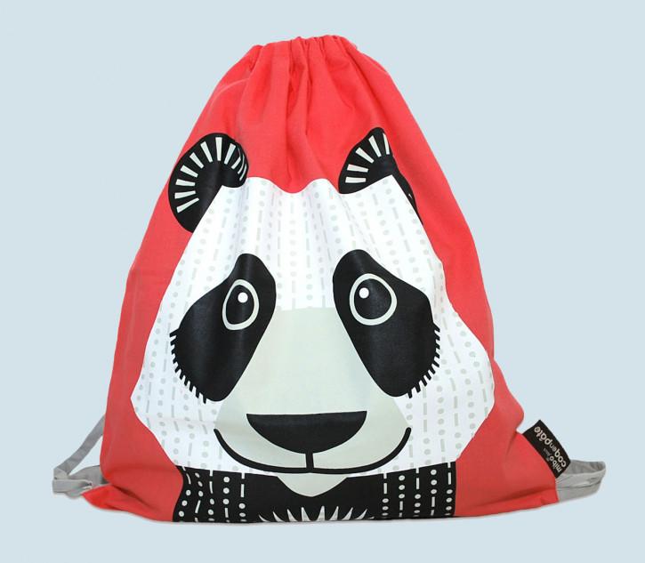 coq en pate - Turnbeutel, Sportbeutel Panda - Baumwolle, Bio