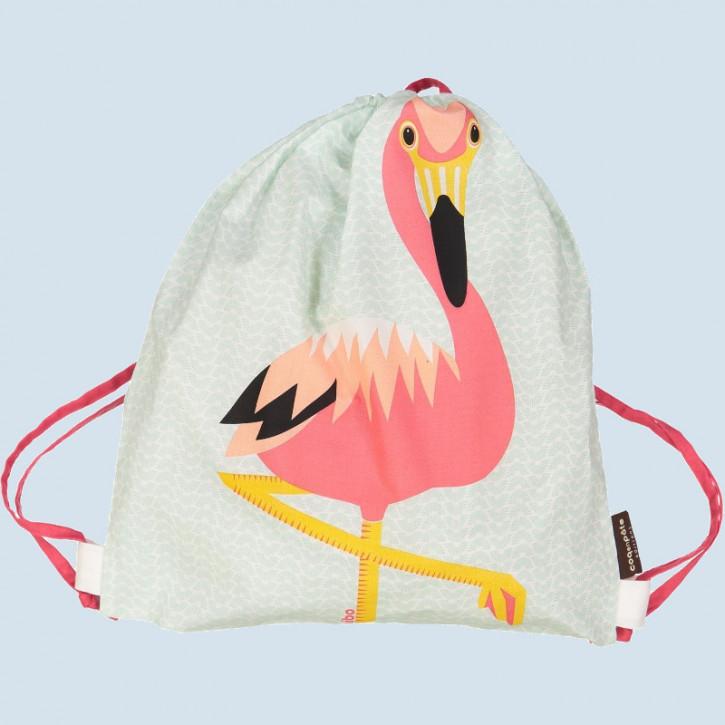 coq en pate - Turnbeutel, Sportbeutel Flamingo - Baumwolle, Bio