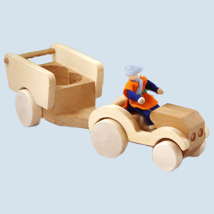 Decor - Tractor with trailer