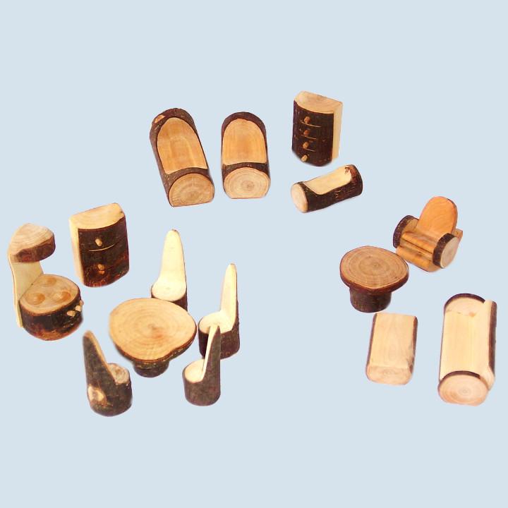 Decor -  furniture set, 14 parts, wood