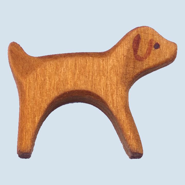 Decor - wooden animal - dog