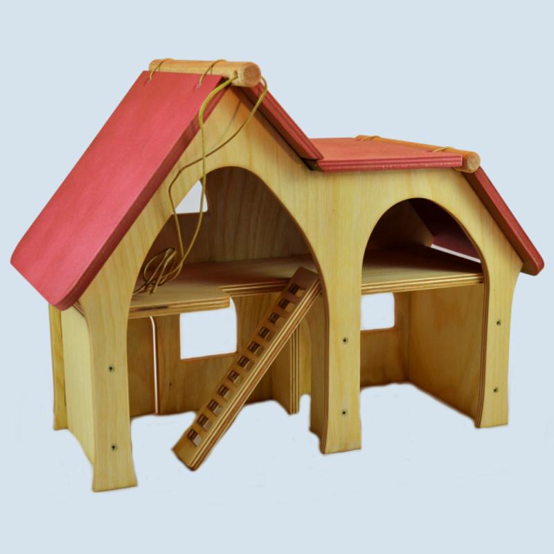Decor - Puppenstube, Wohnhaus, Bauernhof - Holz