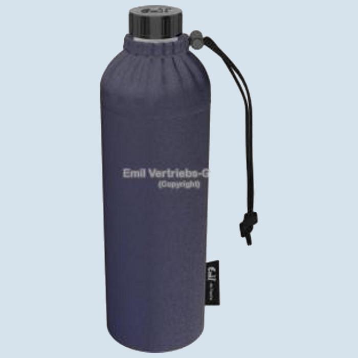 Emil die Flasche - Weithals Trinkflasche Jeans - 0,75 Liter, Bio