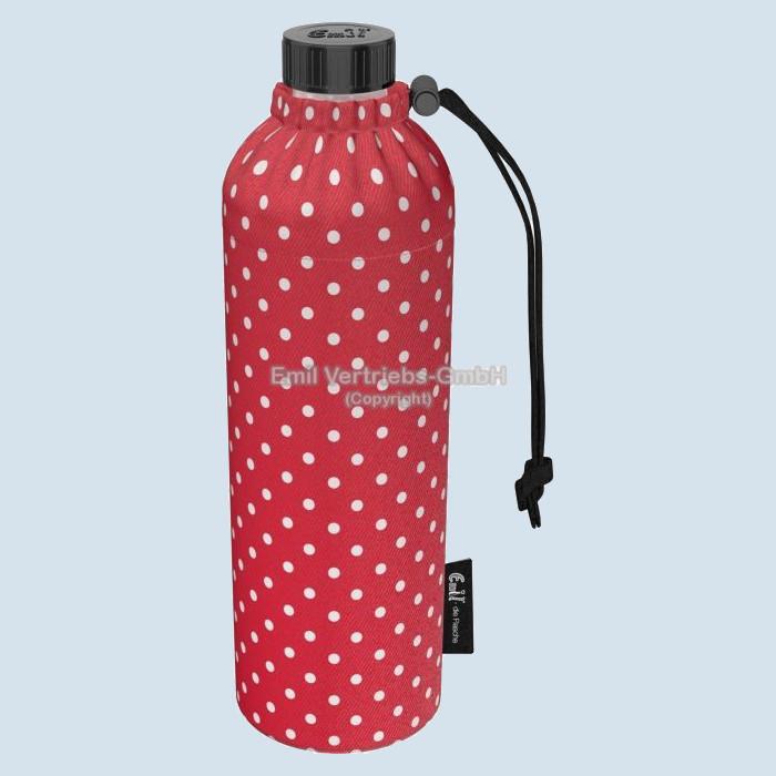 Emil die Flasche - Weithals Flasche Punkte rot - 750 ml, Bio
