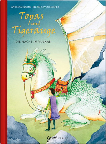 Kinderbuch - Die Nacht im Vulkan - Topas und Tigerauge
