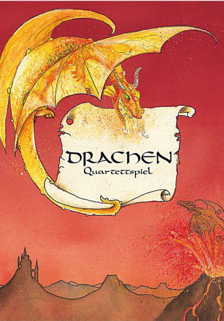 Grätz Verlag - Drachen - Quartettspiel