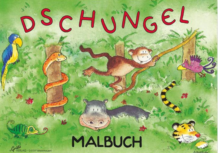 Grätz Verlag - Malbuch Dschungel