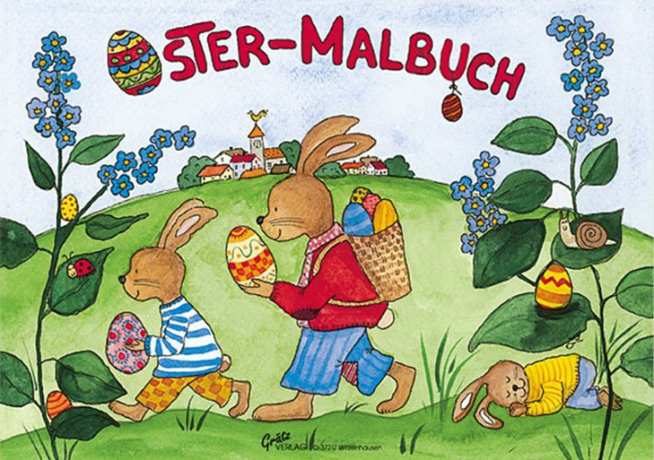 Grätz Verlag - Mini Malbuch - Ostern - DINA7