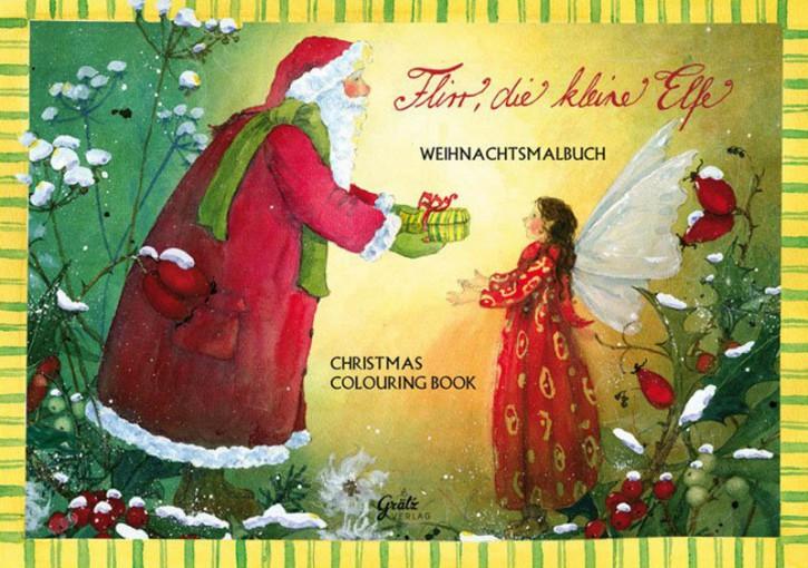 Grätz Verlag - Malbuch - Weihnachtsmalbuch die kleine Elfe - DINA5