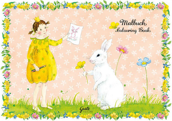 Grätz Verlag - Malbuch - Penelope und der Hase
