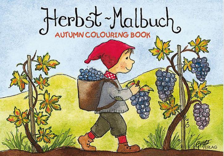 Grätz Verlag - Mini Malbuch Mein Gartenjahr - Herbst
