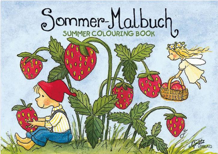 Grätz Verlag - Mini Malbuch Mein Gartenjahr - Sommer