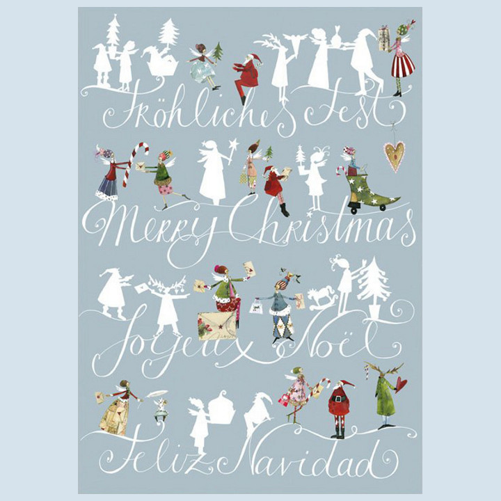 Grätz Verlag - Postkarte - Weihnachtskarte, Wünsche