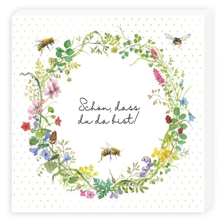 Grätz Verlag - Servietten - Bienen