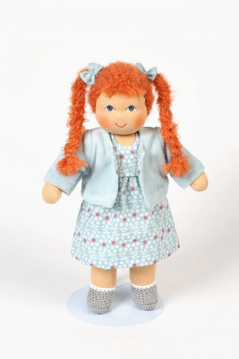 Heidi Hilscher organic doll - Charlotte - red hair, eco