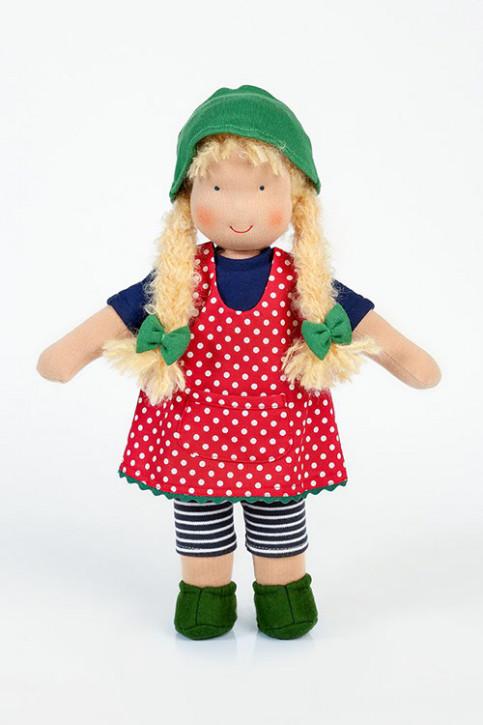 Heidi Hilscher - Puppenkleidung - Schürzchen Lotta - Bio Qualität