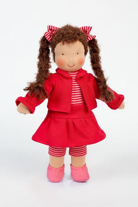 Heidi Hilscher Puppe - Bio Schlenkerpuppe Kathi - Wolle