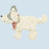 Pat & Patty Kirschkernkissen - Hund - weiß, Baumwolle Bio Qualität