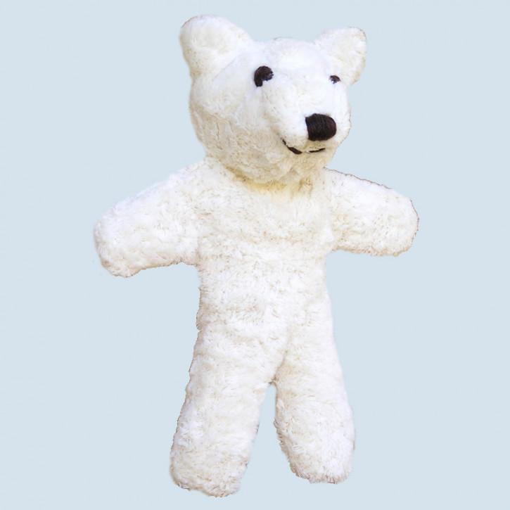Kallisto cuddly toy - Bear, eddy - white, organic cotton, eco