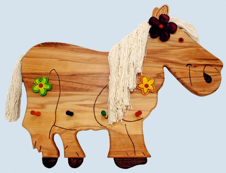 Lammetal - Garderobe für Kinderzimmer - Pferd - Holz