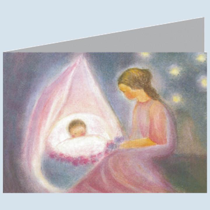 Doppelpostkarte - Mutter
