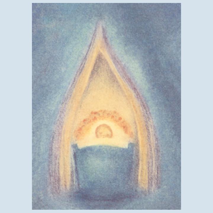 Kunstpostkarte - Guten Abend