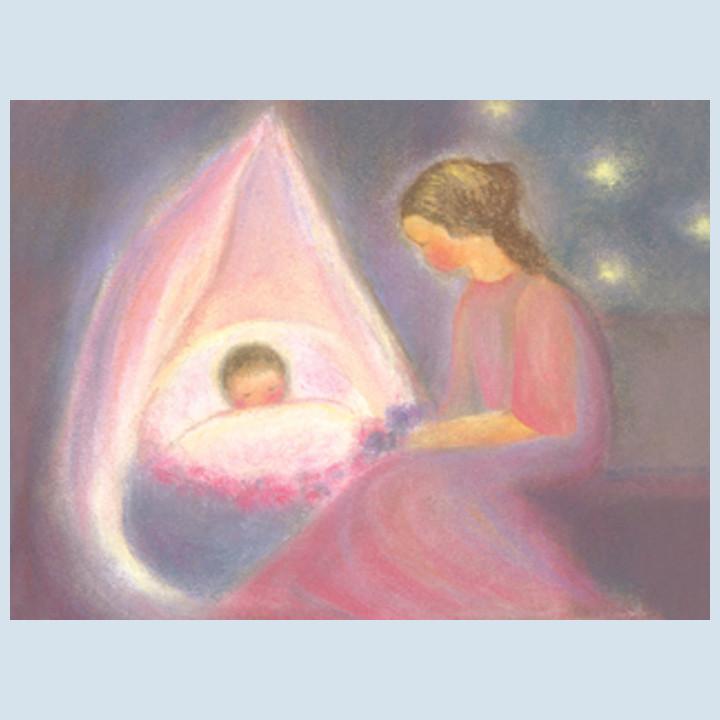 Kunstpostkarte - Mutter