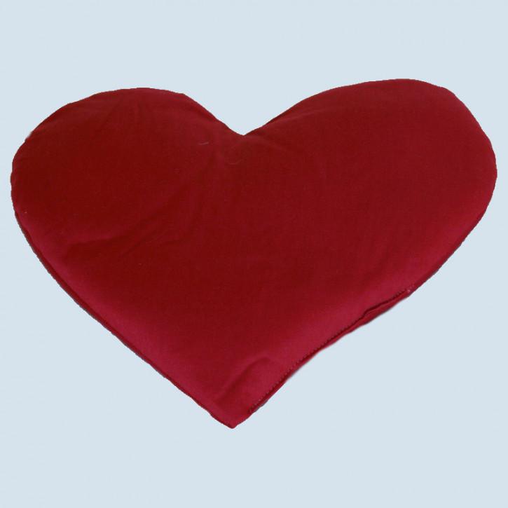 mudis - Duftkissen Herz - Baumwolle Bio Qualität, öko