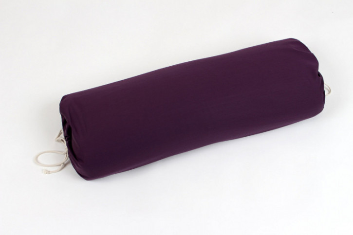 mudis - Yogarolle - lila, Baumwolle, Bio