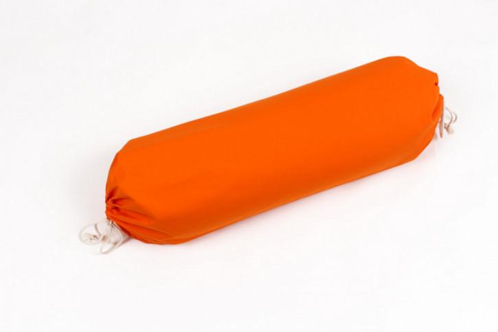 mudis - Yogarolle - orange, Baumwolle, Bio