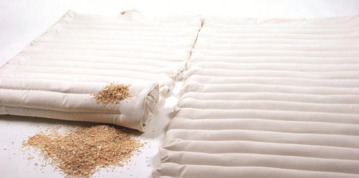 mudis - Matratzenauflage Doppelbett - Baumwolle, Bio Qualität