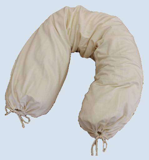 mudis - Bezug für Stillkissen - Baumwolle, Bio Qualität, 30 x 150 cm