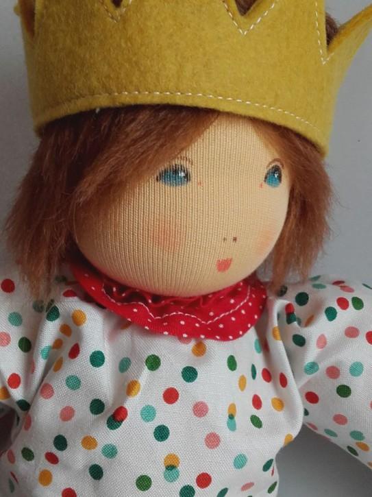 Nanchen Puppe - Anziehpuppe Prinz - Bio Baumwolle, öko