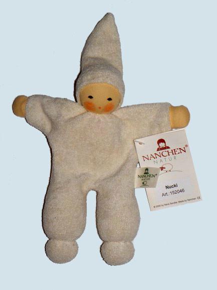 Nanchen - organic soft doll - Nucki - natural color, organic