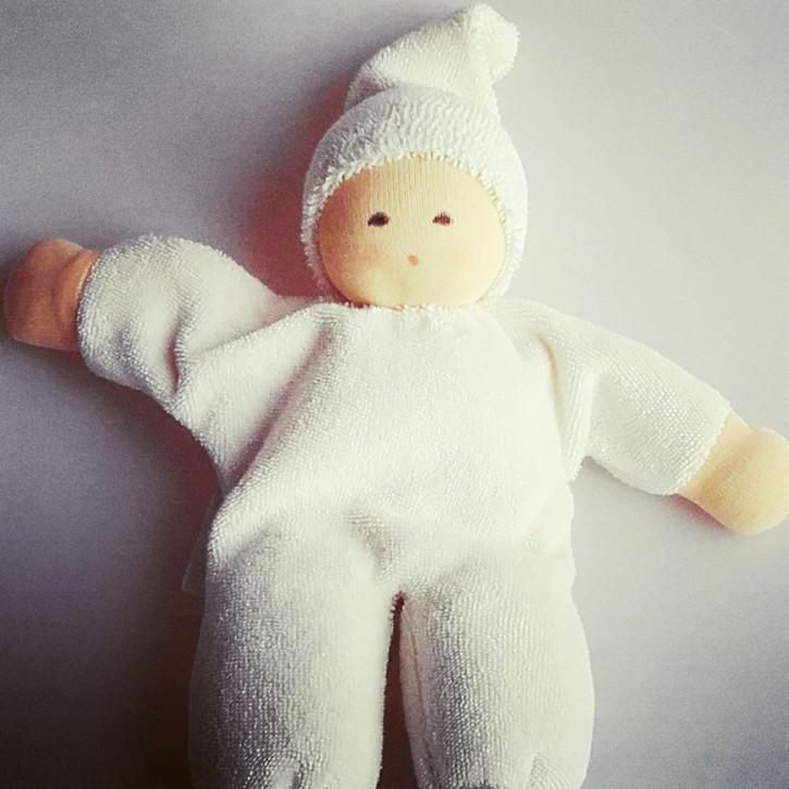 Nanchen - Puppe Nucki - natur, Bio Baumwolle