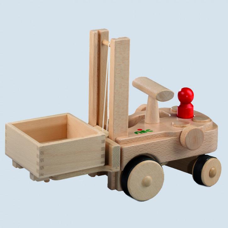 Nic creamobil - Gabelstapler - mit Holzkiste, Holz