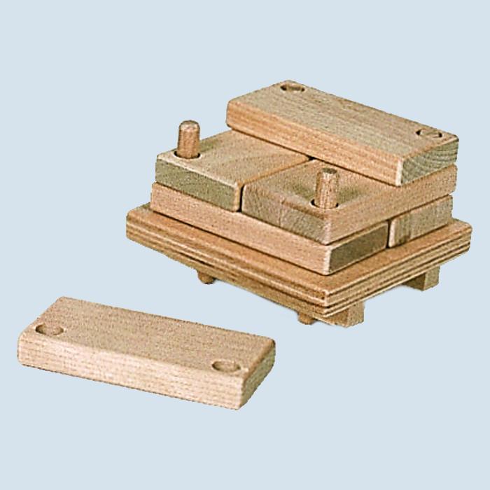 Nic creamobil - Holzstapel für Fahrzeuge