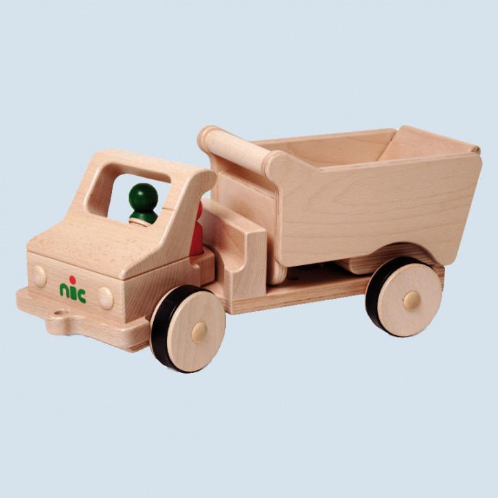 Nic creamobil - Lastwagen, LKW - mit Kippmulde, Holz