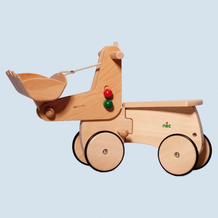 Nic - CombiCar Bagger - Erweiterung für Kinderfahrzeug
