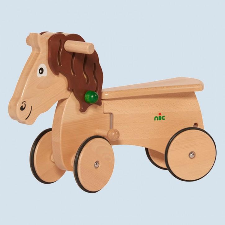 Nic - CombiCar Pferd - Kinderfahrzeug aus Holz