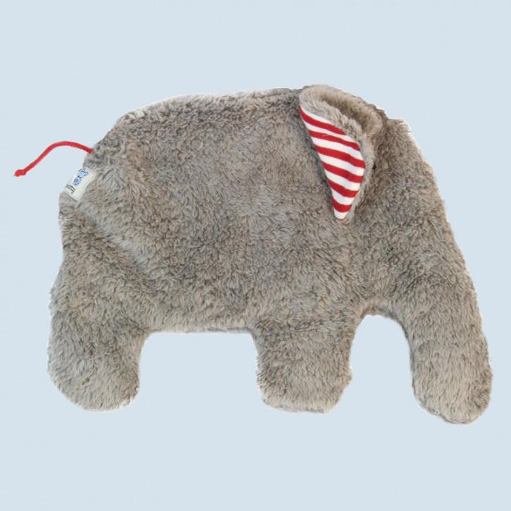 Pat & Patty Kirschkernkissen - Elefant, grau