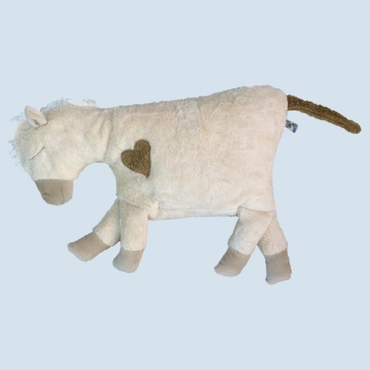 Pat & Patty Kuschelkissen Pferd - weiß, Baumwolle Bio Qualität